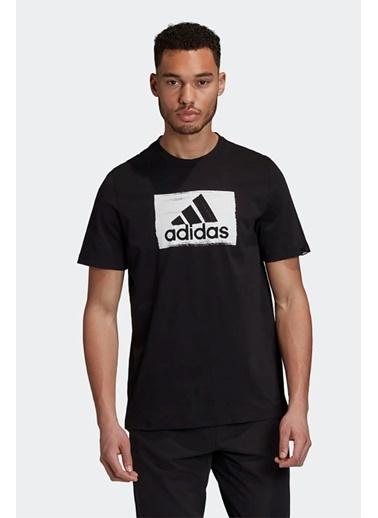 adidas Adidas Erkek Günlük Giyim T-Shirt M Brshstrk T Gd5893 Siyah